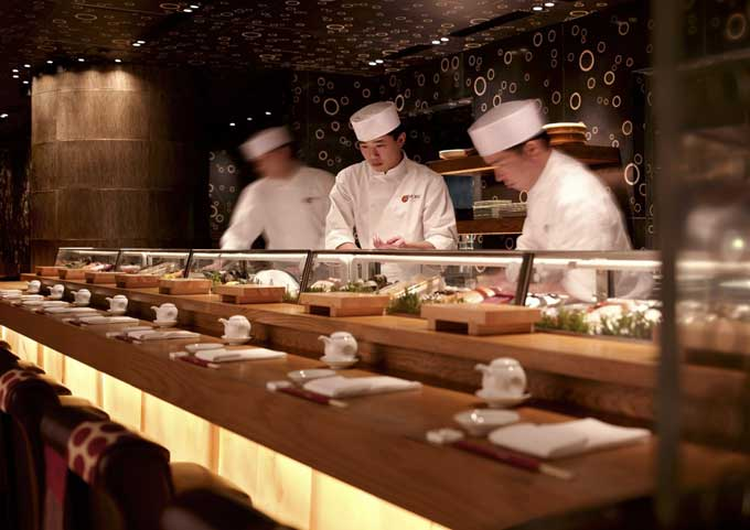 The Sushi Bar at Nobu Hong Kong