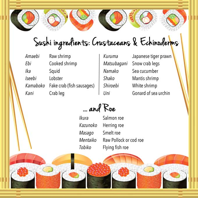 sushi ingredients 2